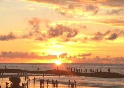 Beautiful Sunset Bali