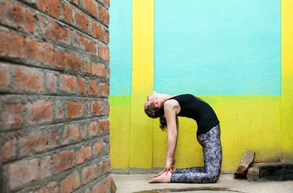 How to do Ustrasana – the camel pose