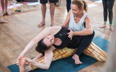 Les alignements – postures de yoga