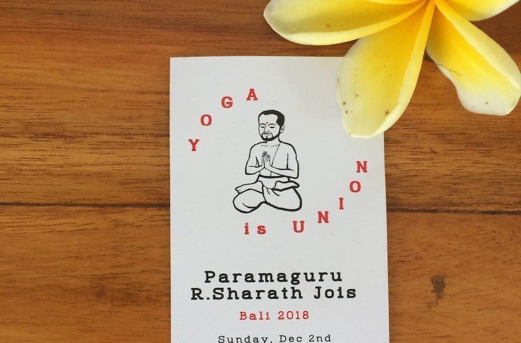 Réflexion autour du Paramaguru
